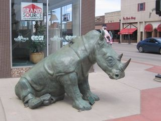 Downtown art from sheridanwyoming.com