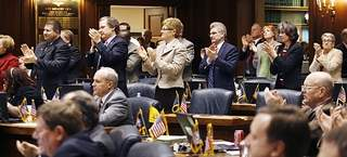 Indiana legislators applaud passage of ethics legislation