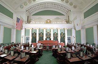 RI Senate chamber