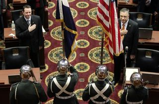 Posting of the Colors in the Missouri House of Representatives