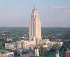 Nebraska capitol Thicket